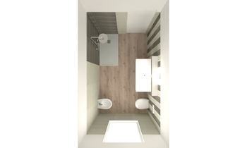 BAGNO METALWOOD Classic Bathroom SERENA POLPINI