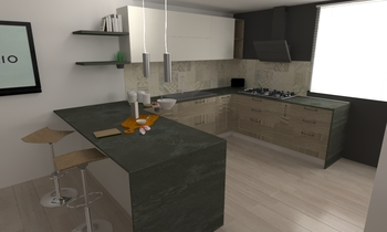 costa Modern Kitchen Aiello Ceramiche