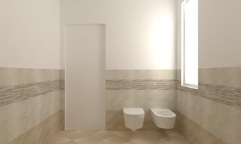 Pavimento beige collezione quarzite di area ceramiche tilelook