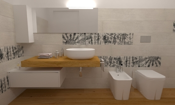 145 Contemporary Bathroom LONGO SRL Superfici & Arredo
