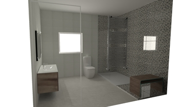 baño vicente billar Classic Bathroom CREA design & home ibiza