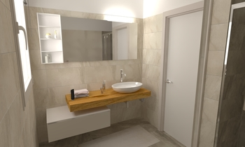 149 Contemporary Bathroom LONGO SRL Superfici & Arredo