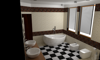 Tile-One Classic Bathroom Daniele Margarit