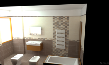 Clio beige e brown Classic Bathroom EDILCONTE  SRL