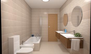 Espada y azulejos p352-3 Moderní Koupelna Equipamientos Espada