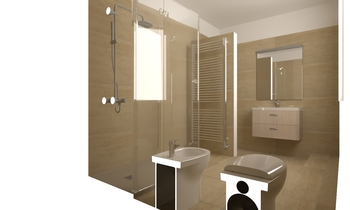 Bagno travertino tilelook