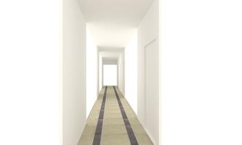 Emeleti folyosó Classico Bagno T.Zs. Cseresznyés