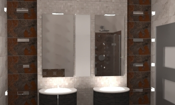 مححم النعميى Classic Bathroom Ahmed homestyle