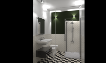 raimondo 1 Eclectic Bathroom Davide D'Orso