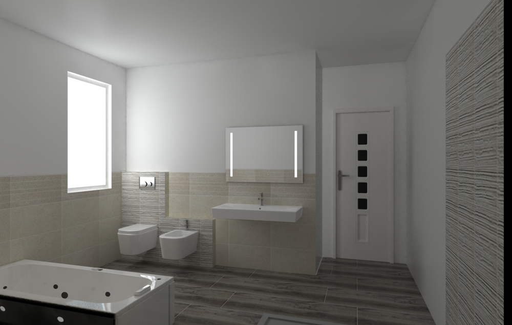 Tilelook: bagno piano primo