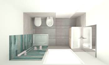 BAGNO PICCOLO FLAIR Classic Bathroom SERENA POLPINI