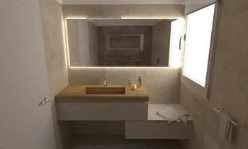 173 Contemporary Bathroom LONGO SRL Superfici & Arredo