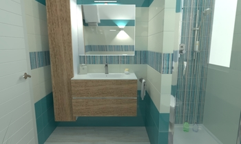 MARAZZI CLOUD 20X50 ,  RE... Classic Bathroom Ceramiche Masala sas