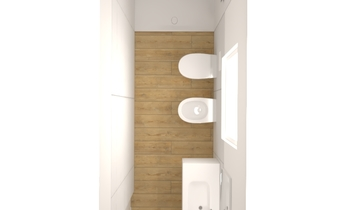 PORCELANOSA WHITE 33,3X100 - Collection Wave by Porcelanosa
