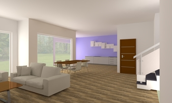 Ma Maison 08/11 20h46 Contemporary Living room Kerth Kerthon