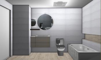 PASILLO MADERA Classic Bathroom ISABEL VIGO