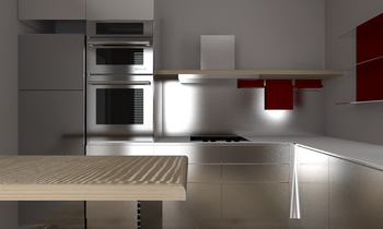 cucina cristina Contemporary Kitchen Lia D'Amico