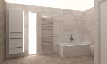SALLE DE BAIN BRIQUET Classic Bathroom Salle Battice