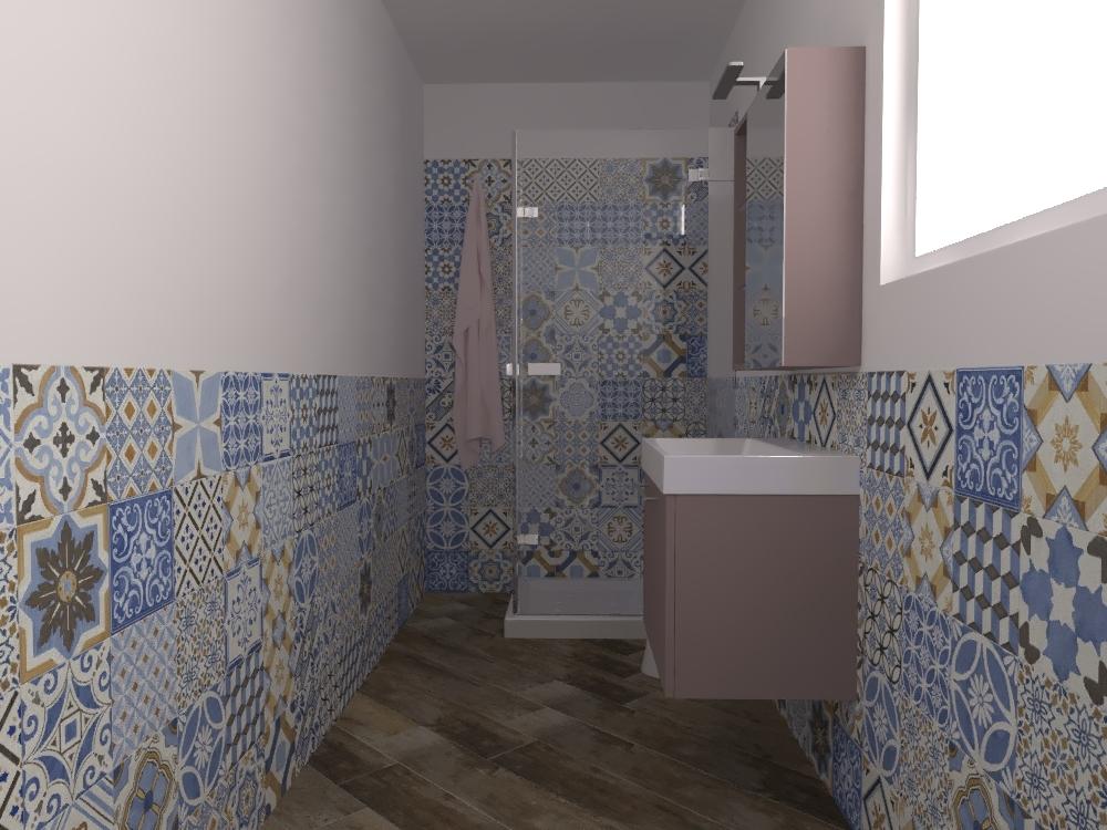 Bagno Loft Versione Con Cementine Tilelook