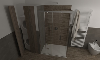 191 Contemporary Bathroom LONGO SRL Superfici & Arredo