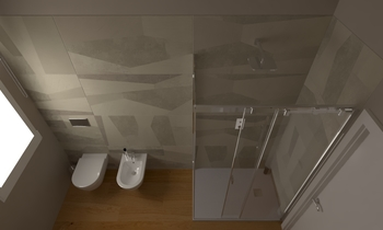 193 Contemporary Bathroom LONGO SRL Superfici & Arredo