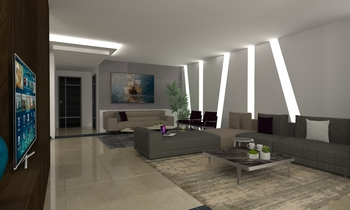 SAIDI PROJECT Classic Living room Natuzzi Beirut