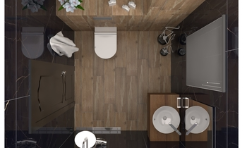 Laurent 2 Classic Bathroom Vesela Neshkova