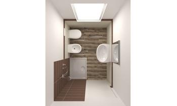 BAGNO PICCOLO Classic Bathroom Francesca e Andrea Des Design