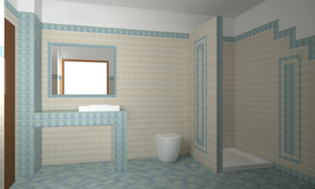 CIR Quintana Classic Bathroom Ceramiche Piran