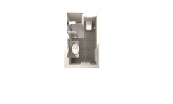 BAGNO CAMERA POLOSA Contemporary Bathroom Lucilla Latorraca