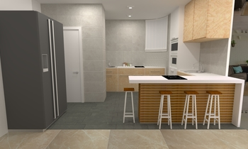 Kitchen Maggie Contemporary Kitchen Feruni Ceramiche Sdn Bhd
