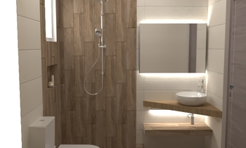 OZONE SNOW - TIMBER NOCE... Classic Bathroom HOUSE LTD