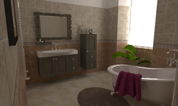 prova 25 Classic Bathroom Lucilla Latorraca