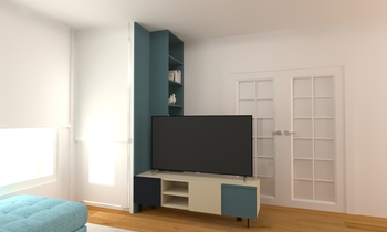 TV Modern Living room Saracibar Sofas Deco