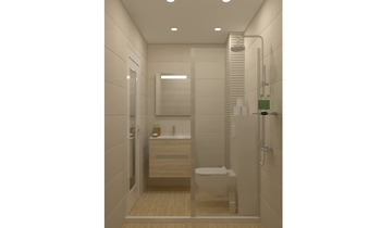 all in white Classic Bathroom Keraton Ob