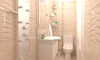 Project Varana Almond 6.2... Classic Bathroom Vesela Neshkova