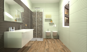 wood touch Classic Bathroom ismael fadel