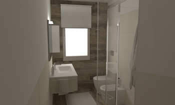218 Contemporary Bathroom LONGO SRL Superfici & Arredo