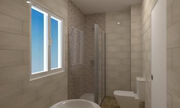 Baño 1 Classique Salle de bain rafael  carmona pavon