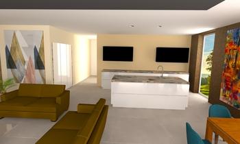 Nappali+v2 Modern Oturma odası Gabor Veze