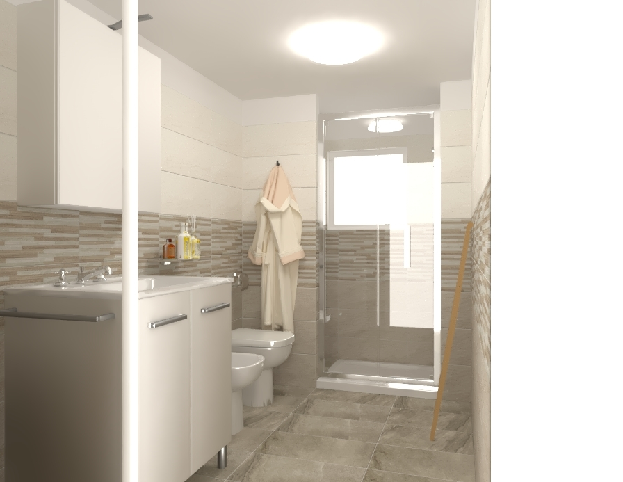 Bagno in campagna 3 x 1 70 tilelook - Bagno in campagna ...