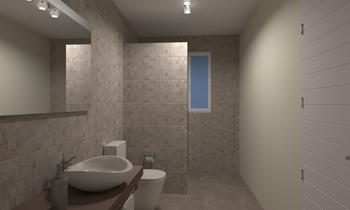 Baño-1 Cl. Fenoll Classic Bathroom Mario Lorenzo Suarez