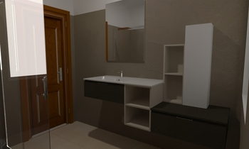 Bagno Resina V. Classic Bathroom Corrado HabiMat Showroom