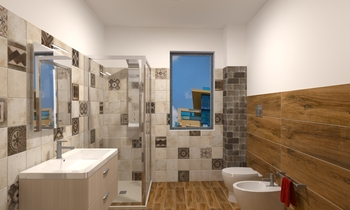 Bagno P. Primo Catalfamo Contemporary Bathroom Giovanni Milone