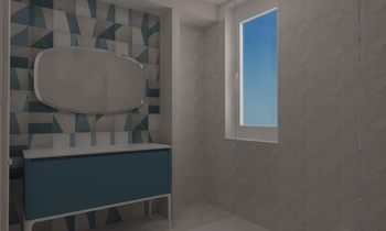 Bagno BM Contemporary Bathroom Corrado HabiMat Showroom