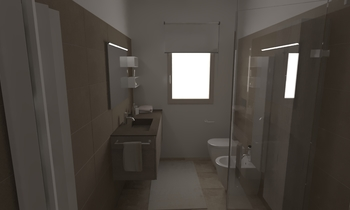 223 Classic Bathroom LONGO SRL Superfici & Arredo