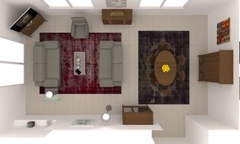 VARIANTE C Contemporary Living room Natuzzi Italia Store Etoy