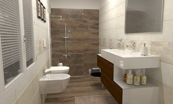 Progetto Legend&Inside Classic Bathroom EDILVETTA Professionisti dell'abitare