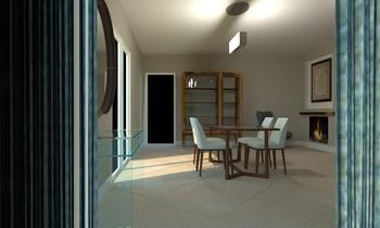 perna v. coppola salone Contemporary Living room Raffaele  Natale