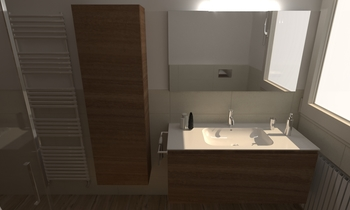 228 Contemporary Bathroom LONGO SRL Superfici & Arredo
